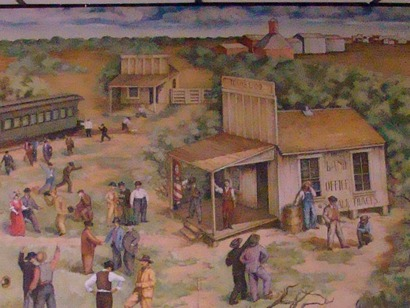 Robstown Texas Post Office Mural
