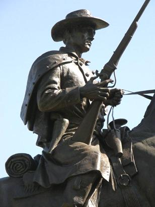 Terry's Texas Rangers Monument, Capitol Grounds, Austin, Texas