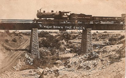 Acme TX Bridge circa 1908