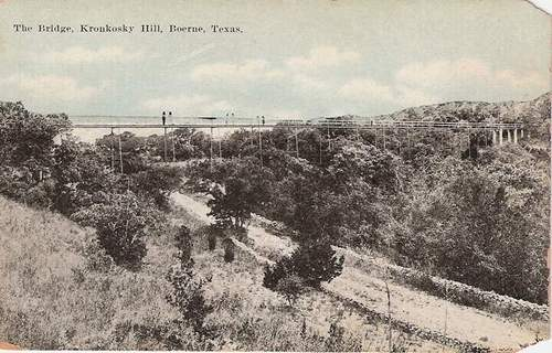 Boerne TX Kronkosky Hill Bridge