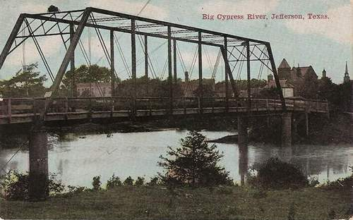 Big Cypress River Bridge, Jefferson Texas