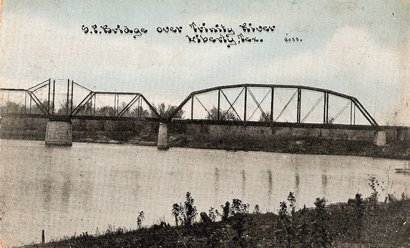 Liberty Texas, S.P.Bridge Trinity River, circa 1910