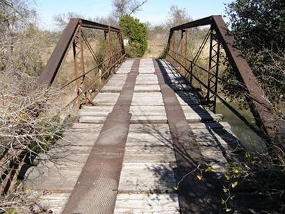 East Sweden Texas Pony Truss Bridge