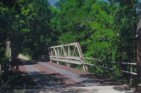 Cotton Belt Road Bridge, Richland Springs Texas