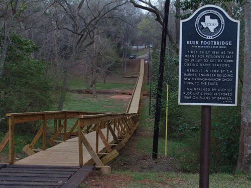 Rusk Footbridge, Texas