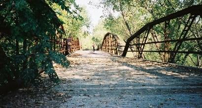 Mueller Bridge Wilson County Texas