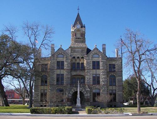 La Grange Tx Fayette County Courthouse