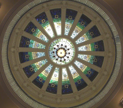 Brownsville TX - Cameron County Courthouse Skylight