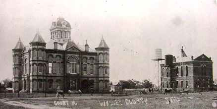 Hempstead TX - 1894 waller County Courthouse and jail