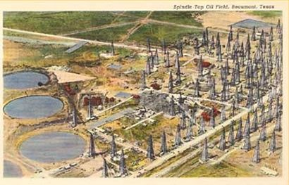 Spindle Top Oil Field, Beaumont, Texas