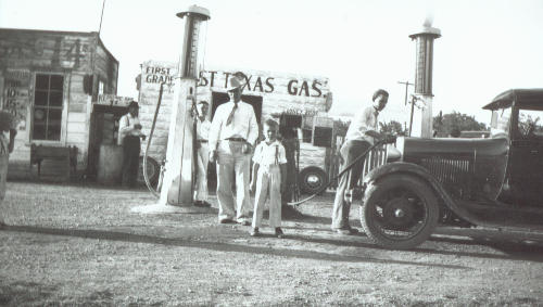 Marlin TX - East Texas Gas, Looney Brothers & Sons, 1947s