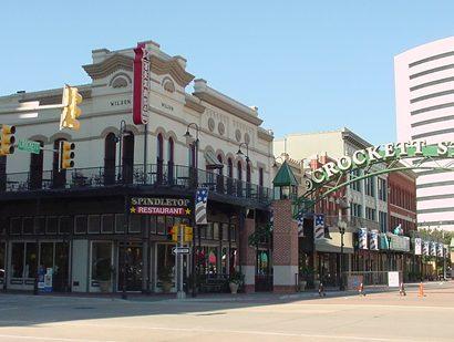 Crockett Street Beaumont Texas