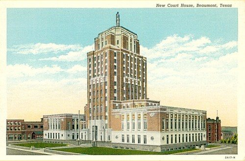 Jefferson county courthouse beaumont texas for Sander s motor co beaumont tx