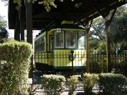 Bellaire Texas electric streetcar