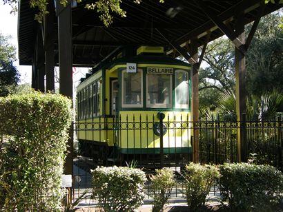 Bellaire Texas electric streetcar