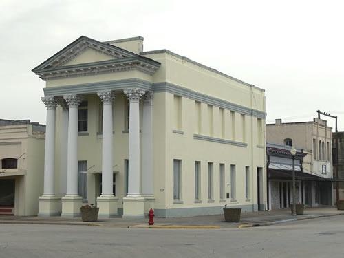 El Campo Texas Former Bank Building