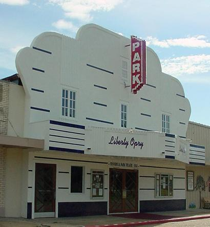 Former Park Theatre Now Liberty Opry In Texas