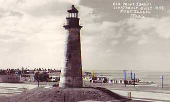 Old Point Isabel lighthouse, Port Isabel, Texas