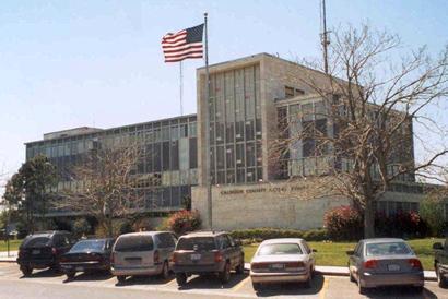 1959 Calhoun County Courthouse Port Lavaca Texas
