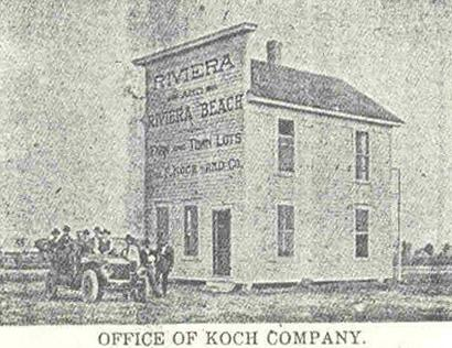 Riviera Texas Koch Company old photo