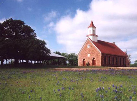 1890 United Methodist Church,  Art, Texas