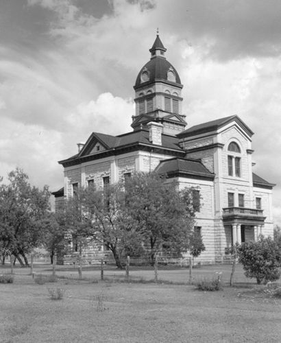 TX - 1890 Bandera County Courthouse