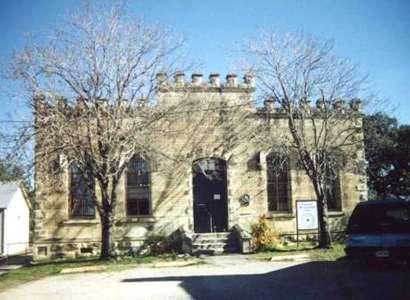Former Bandera County Jail A Stone Texas