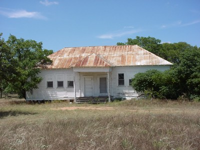 Bluffton, Texas old schoolhouse