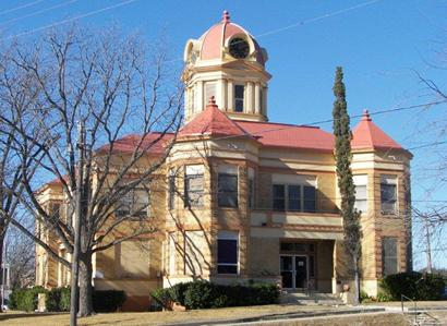 1910  Kinney County Courthouse, Brackettville TX