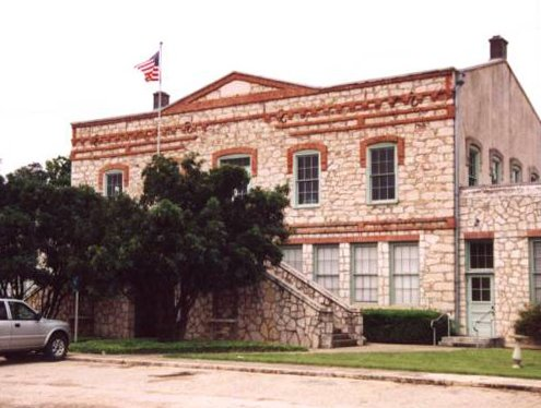 First Medina County Courthouse Castroville Texas
