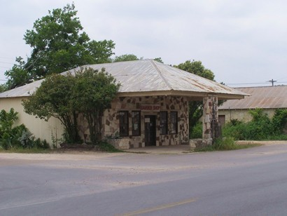 Dripping Springs Texas Old Gas Station