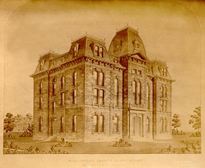 1877 Williamson County Courthouse,  Georgetown Texas