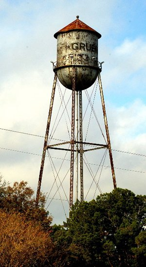 Gruene Texas Old Water Tower