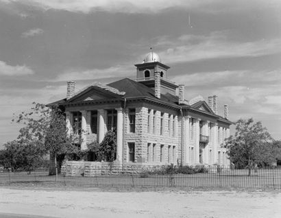 1916 Blanco County Courthouse Johnson City Texas Old Photo