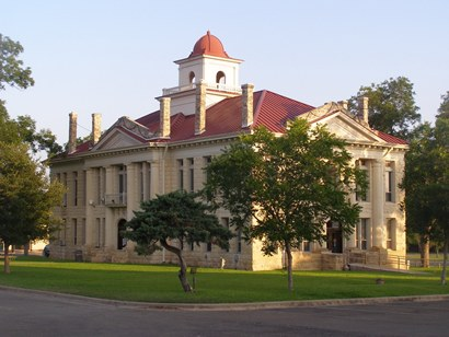 1916 Blanco County Courthouse Johnson City Texas Today