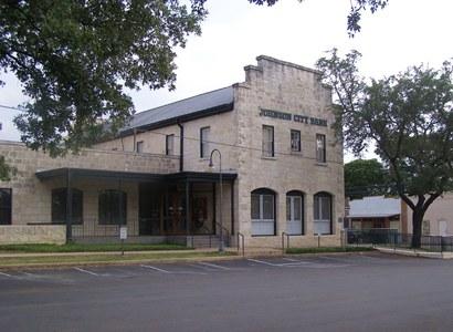 Johnson City Bank Texas Early Morning