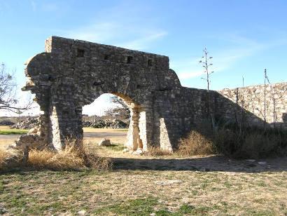 Menard, Texas Real Presidio de San Saba ruins