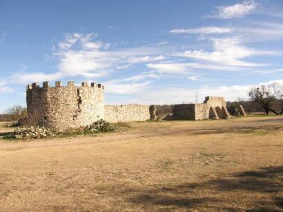 Menard Texas Real Presidio De San Saba Ruins