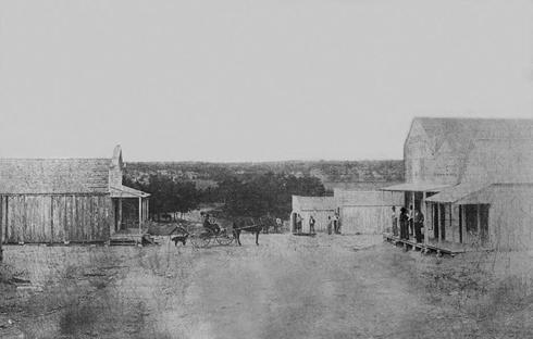 Oakalla Texas old photo