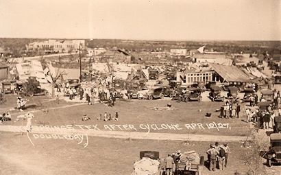 1927 Cyclon Rocksprings Texas Old Photo