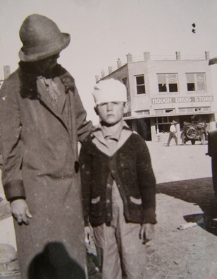 1927 Tornado Injured Child Rocksprings Texas
