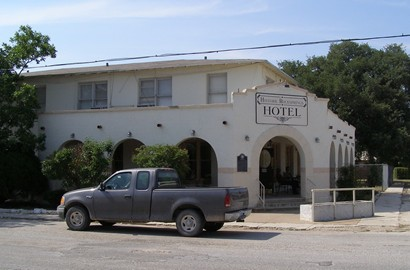 Rocksprings Texas Historic Gilmer Hotel