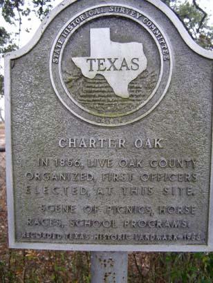 charter oak early history