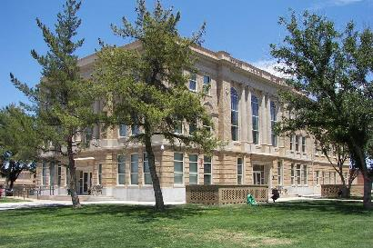 Brownfield Texas Terry County Courthouse