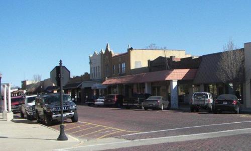 Dalhart Texas Denrock Avenue
