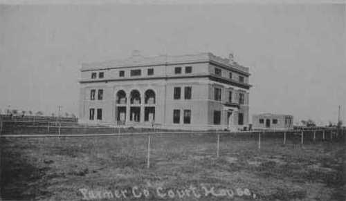Farwell, Texas - Parmer County Courthouse & Jail