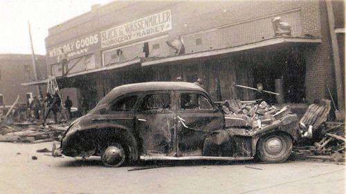 Higgins Texas 1947 Tornado Photos