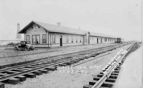 Borger-Isom Depot in Texas