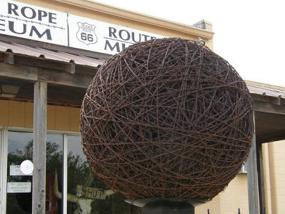 McLean TX - Barbed Wire, Devil's Rope Museum, Route66