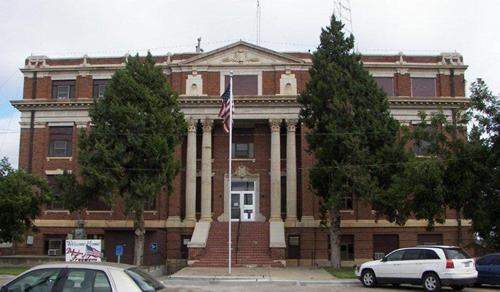 Memphis Texas 1923 Hall County Courthouse Today